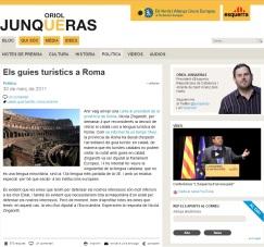 Blog d'Oriol Jonqueres guies a Roma març 2011